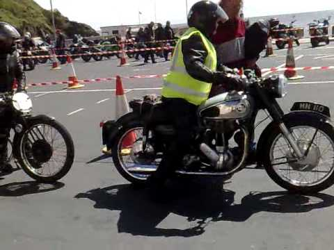 Isle Of Mann TT 2009 friday's classic bike show at Laxey i think !