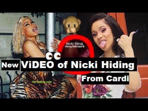 Nicki Minaj Hiding so Cardi B Won't Beat Her Up, Rah Ali did NOTHING! (Video Proof)😱