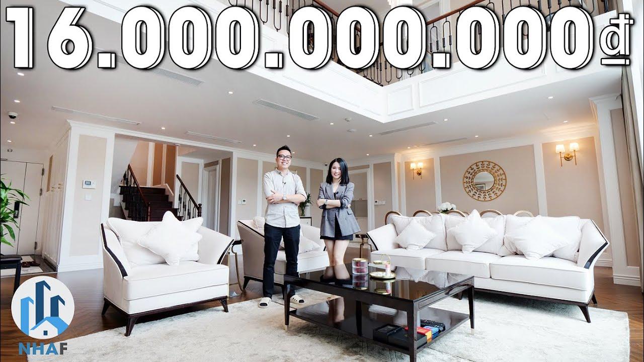 Khám Phá Căn hộ DUPLEX Thông Tầng Trị Giá 16 TỶ rộng 280m2 tại Mandarin Garden, Hà Nội – NhaF [4K]