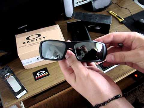 Unboxing and review sunglasses Oakley Gascan Matte Black Iridium Polarized  (+correction) 4caca245e2