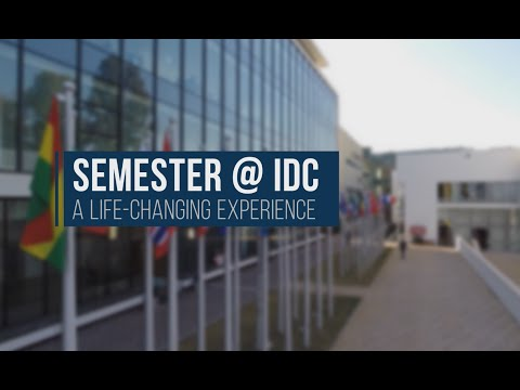 IDC Student Exchange Program - A Life Changing Experience