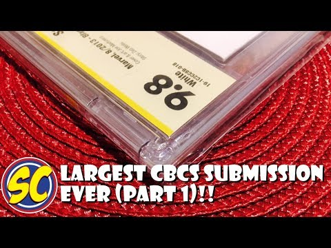 My Largest CBCS (not CGC) Submission (part 1): Comic Book Speculation and Investing!!