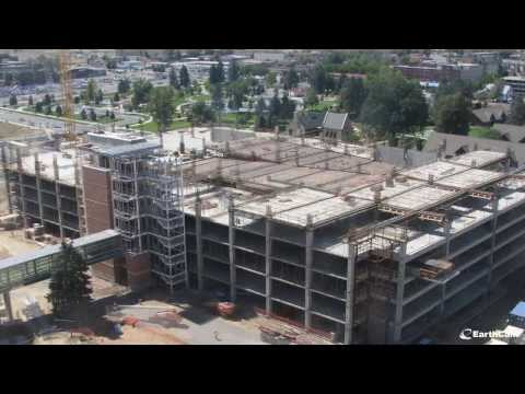 University of Colorado Hospital Construction Time-Lapse