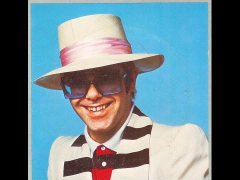 Elton John - One Horse Town (1976) With Lyrics!
