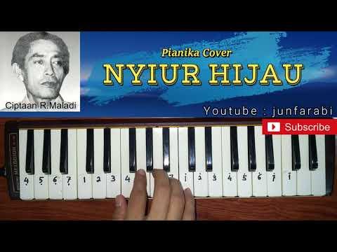 Lagu Nyiur Hijau - Pianika Cover - Instrumental  Junfarabi