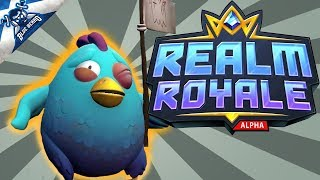 🔴 REALM ROYALE LIVE STREAM #4 - The Hunter is Insane! 🐔 Platinum 4 Going For Diamond! (Duos)