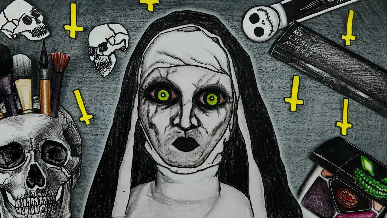 Download VALAK The Nun Horror Style Makeup Challenge | WOA Barbie Story