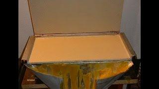 Beeswax Foundation Mould Press DIY - Κηρηθροποιείο - Πρέσα Φύλλων Κηρήθρας part 2