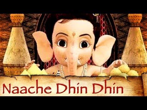 Naache Dhin Dhin - Bal Ganesh - Kids Animation...