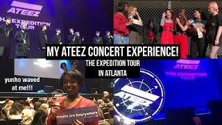 my ateez concert experience vlog ! | The Expedition Tour in Atlanta #ATEEZinATL