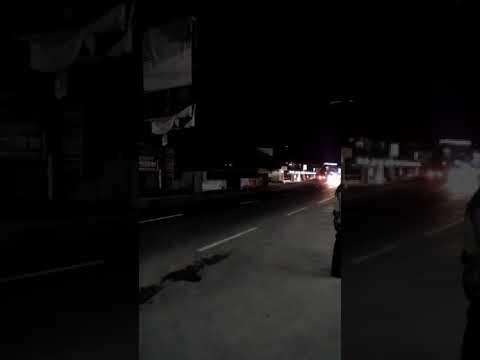 Detik-Detik Rombongan Bapak Jokowi Lewat Spbu 44.532.03 Majenang