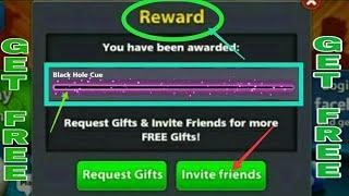 8 Ball Pool Get Free 【 Black Hole Cue 】 Free Reward Link 100% Working