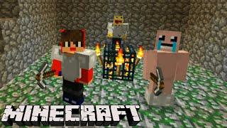 Minecraft: EQUIPE SURVIVAL - A CAVERNA MISTERIOSA! #24