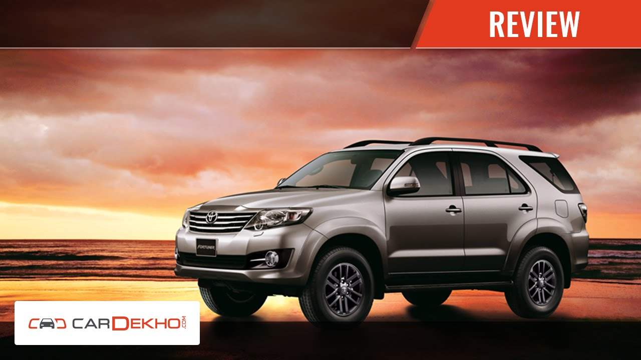 Toyota Fortuner Specifications- Find all Details & Features