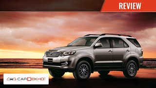 Know Your Toyota Fortuner | Review of Features | CarDekho.com