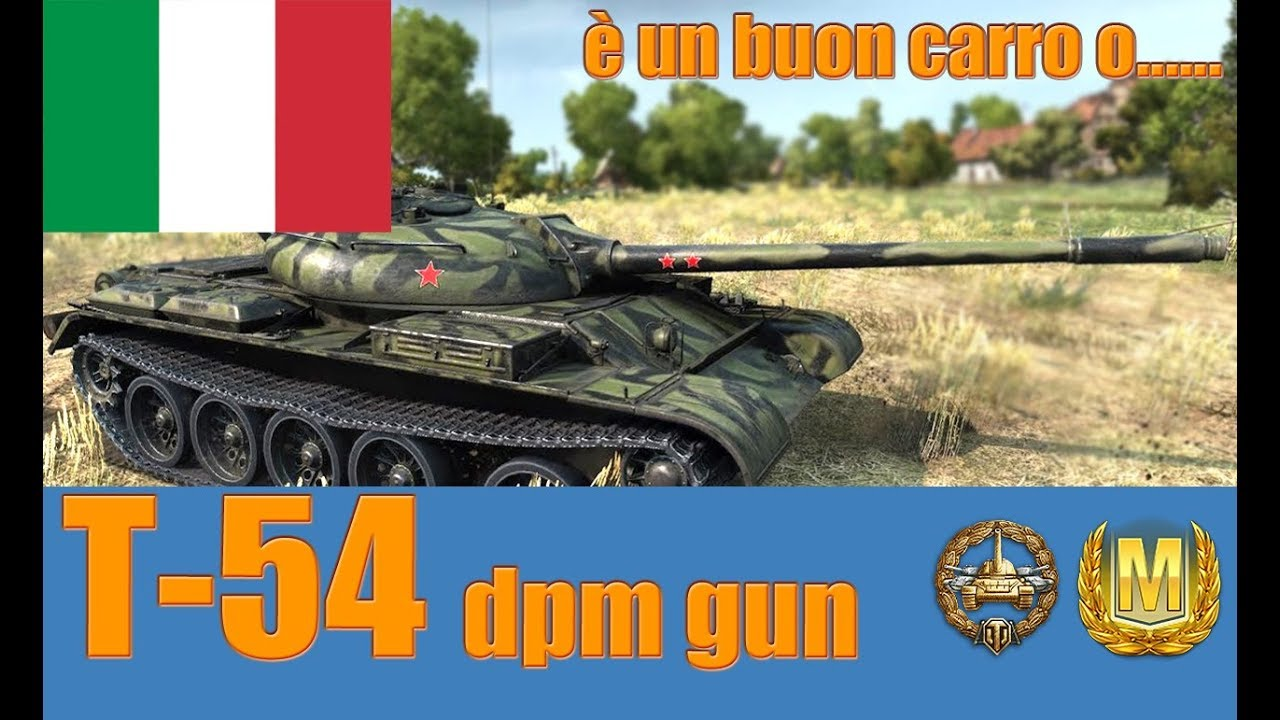 World of Tanks T-54 dpm Review ITA - YouTube