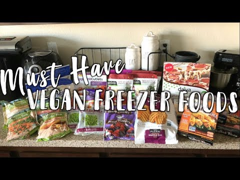 What VEGAN FOODS are in my Freezer? (+How I keep it stocked and ready for ANY occasion!)