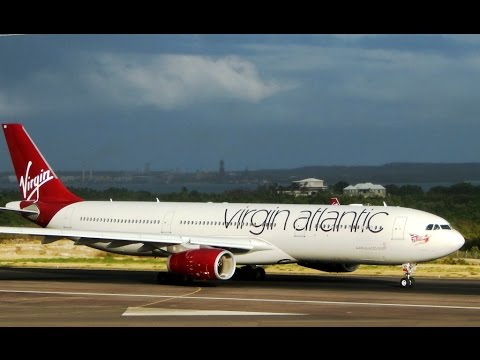 Mobile Upload: Virgin Atlantic Departure from Antigua (TAPA) [HD]