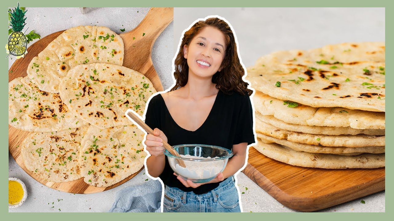 How to Make PERFECT Gluten-free Flatbread (5-Ingredients)