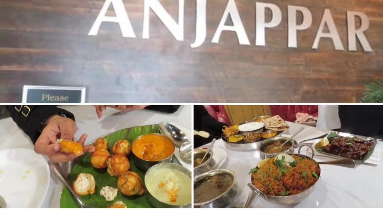 Anjappar Chettinadu Restaurant South Indian Restaurant In Usa Atlanta