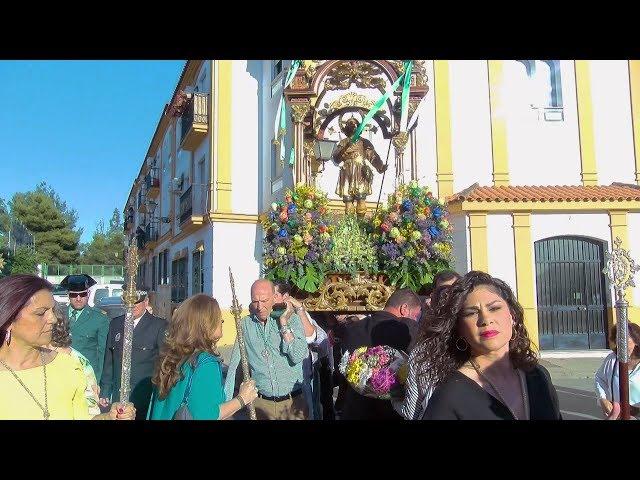 Los cartayeros arropan a San Isidro en su procesión de traslado a la parroquia