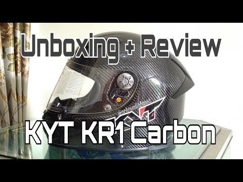 UNBOXING: Helm KYT KR1 Black Carbon