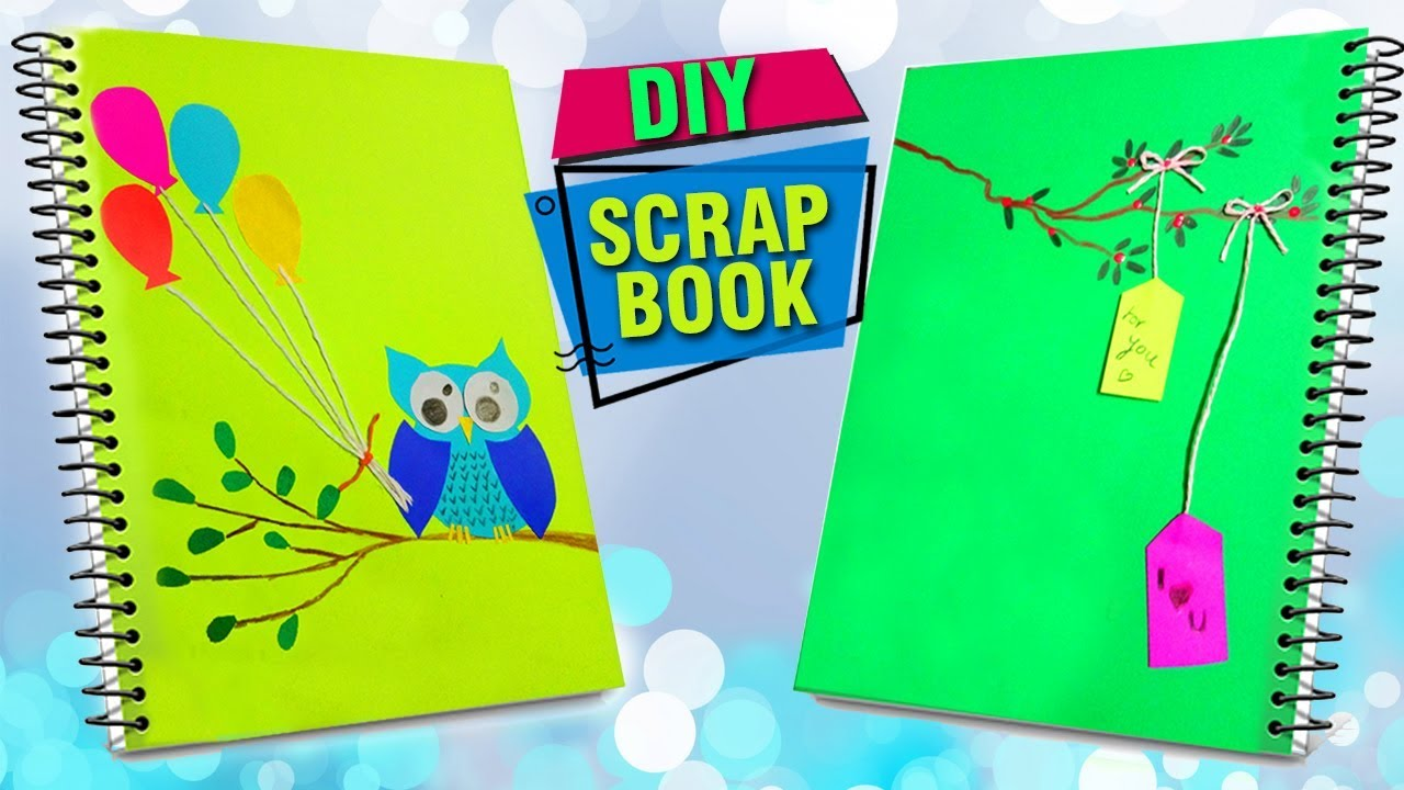 How To Make A Scrapbook Paper Crafts For Kids Summer Crafts