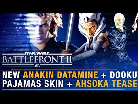ANAKIN Datamine + Ahsoka NEW HERO Leak + Dooku Pajama Appearance | Battlefront Update