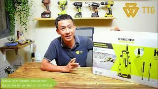 [REVIEW] Máy Rửa Xe 1800W Karcher K4 FULL CONTROL
