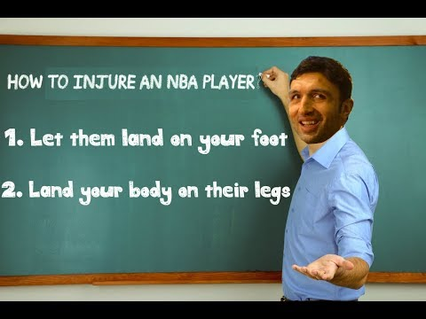 "NBA ""Zaza"" Injuries Compilation (2017-2018 Season)"
