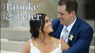 """""""Right There Beside You"""" Brooke & Peter Wedding"""