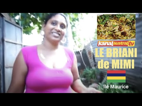 BRIANI de MIMI à l'ile Maurice