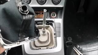 Versnellingspookknop en Afdichthoes vervanging - VW Passat - VAG AUDI SKODA SEAT