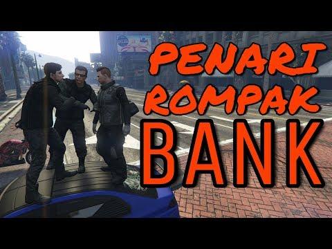 Penari Rompak Bank ? 😂 ~ GTA V ONLINE (BAHASA MELAYU)