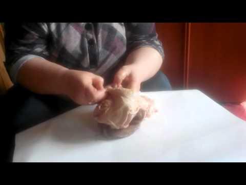 Как почистить свиной желудок для сальтисона видео