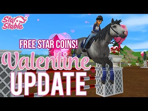 Valentine Update & Free Star Coins | Star Stable Update | Star Stable Online