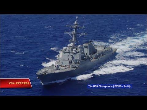 Truyền hình VOA 10/5/19: VN lên tiếng ủng hộ 'quyền tự do hàng hải' ở Biển Đông