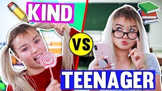 KIND VS TEENAGER IN DER SCHULE!😱 Früher vs Heute 📚✂️