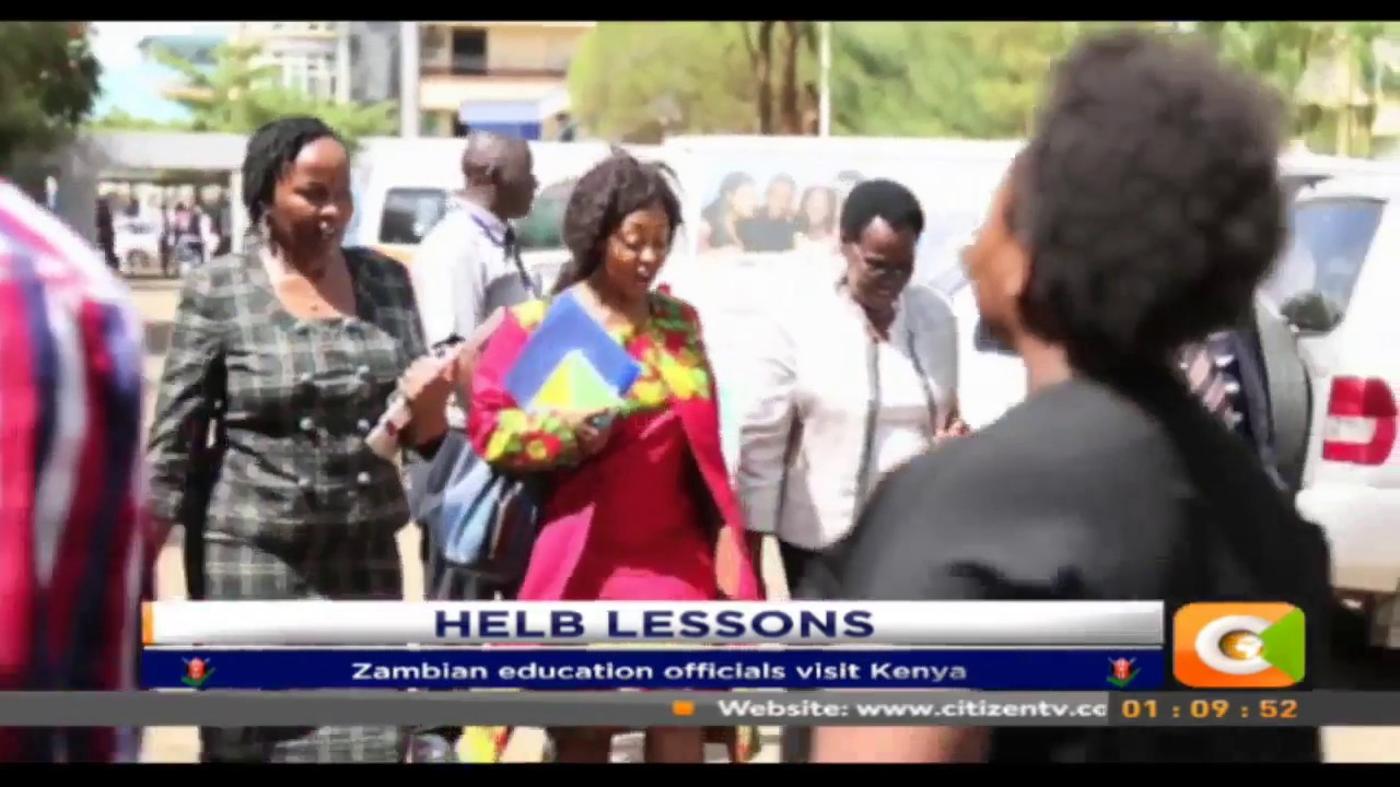 Zambian education officials visit Kenya to learn more about HELB