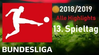 FIFA 19 1. Bundesliga 13. Spieltag Highlights und Tore Saison 2018/19 ⚽ Gameplay Deutsch Livestream