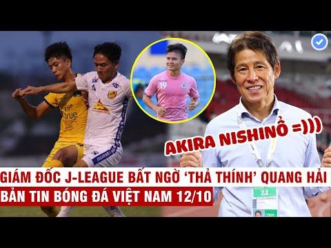 VN Sports 12/10 | Văn Đức tỏa sáng-SLNA đè bẹp Quảng Nam, HLV Nishino tuyên bố đưa Thái đến tầm TG