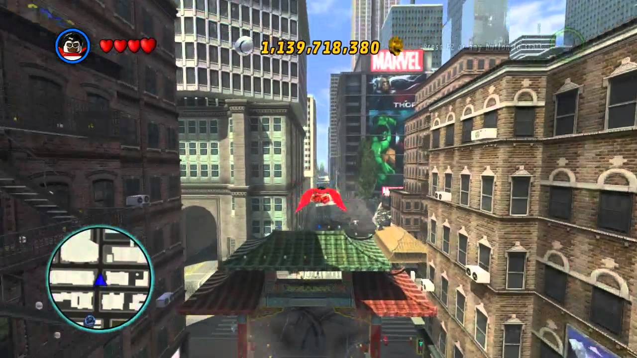 lego marvel super heroes the video game falcon free roam