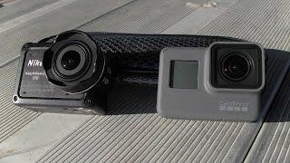 Nikon Keymission 170 vs Hero5 Black: Test #1