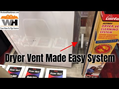 Move Your Dryer Closer To The Wall #Gardus Dryer Vent Made Easy Connection System | Weekend Handyman