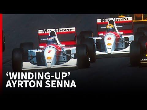 When Hakkinen told Senna he needed bigger balls