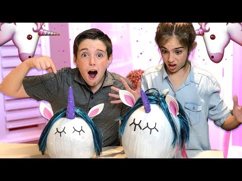 Thumbnail: HALLOWEEN UNICORN PUMPKINS!! - DIY