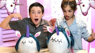 HALLOWEEN UNICORN PUMPKINS!! - DIY