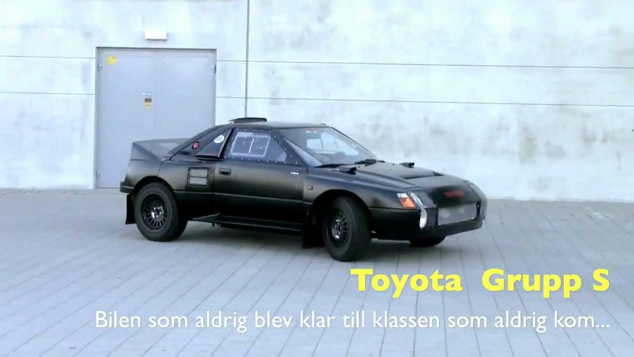 toyota mr2 för grupp s-rally (222d mr2 aw11) - youtube