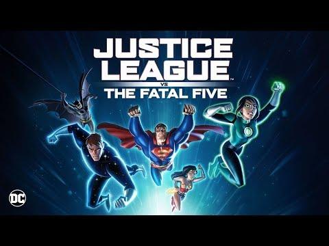 Justice League Vs The Fatal Five