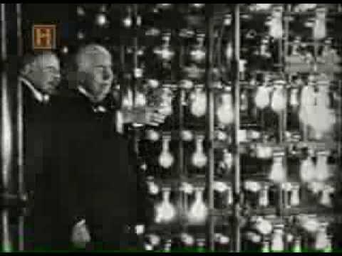 Thomas Edison - Invenção da Lâmpada